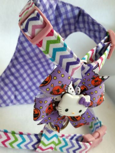 Hello Kitty Halloween Small Dog Harness