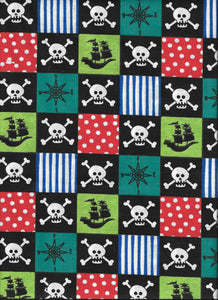 Ahoy Skulls Harness