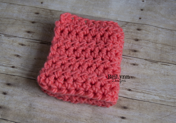 Coral Roving Blanket Layer Roving Blanket - ReiLynn Designs Photography Props