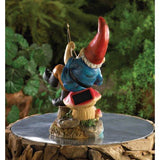 Fishing Gnome Solar Light