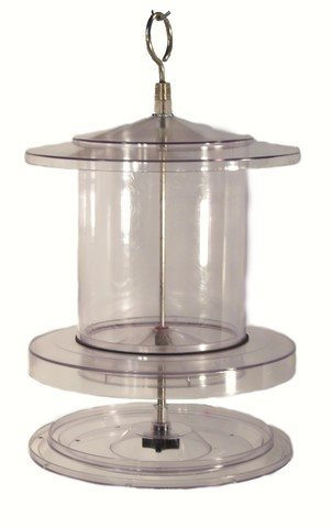 All Weather Bird Feeder 4 Qt Clear