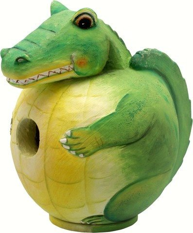 Alligator Gord O Bird House