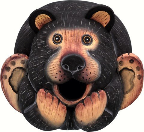 Black Bear Gord O Bird House