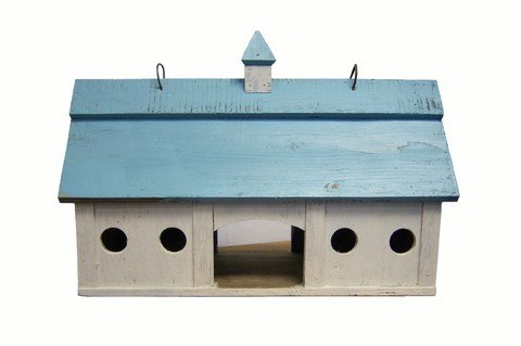 Blue Stable Bird Feeder
