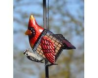 Cardinal Suet Bird Feeder
