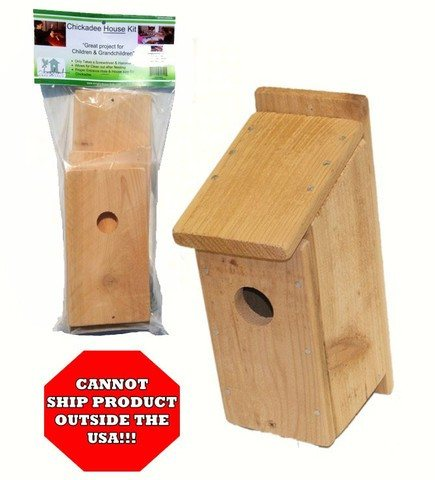 Chickadee Bird House Kit