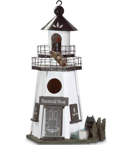 Nautical Nest Bird House