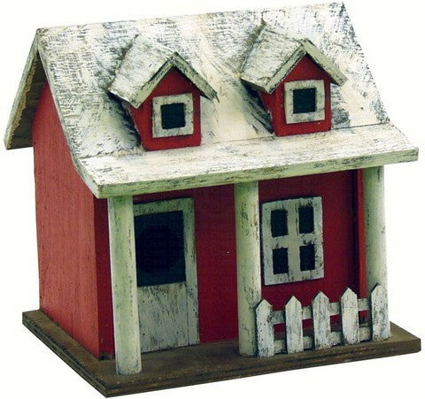 Pickett Fence Cottage Bird House