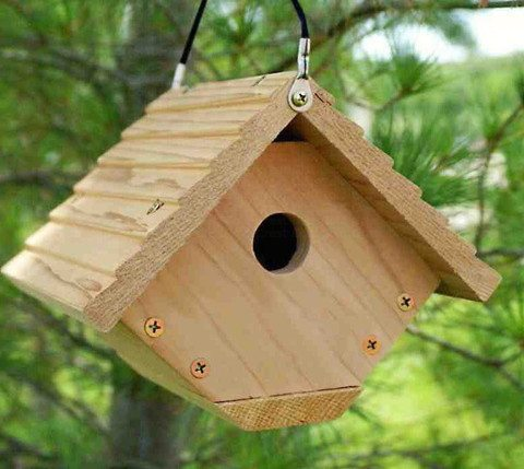Traditional Wren Bird House
