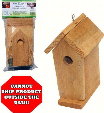 Wren Bird House Kit
