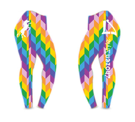Colorful Unicorn Style Leggings