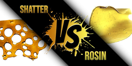 Rosin Vs Shatter: What's The Difference