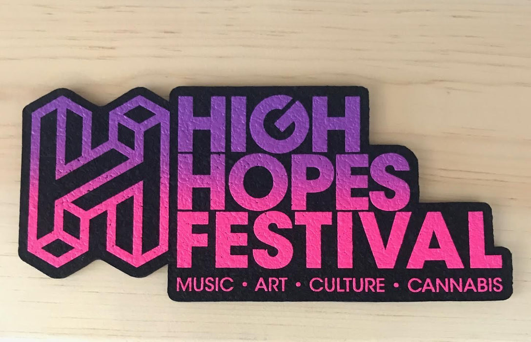 "High Hopes 12"" Limited Edition Dab Mat"