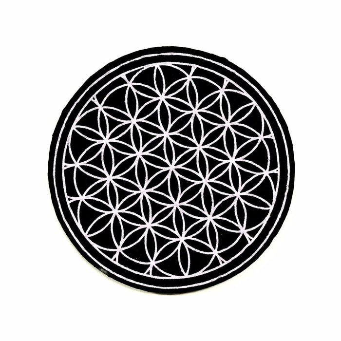 FLOWER OF LIFE Dab Rig Mat, Mats by Mood Mats available on Dab Nation