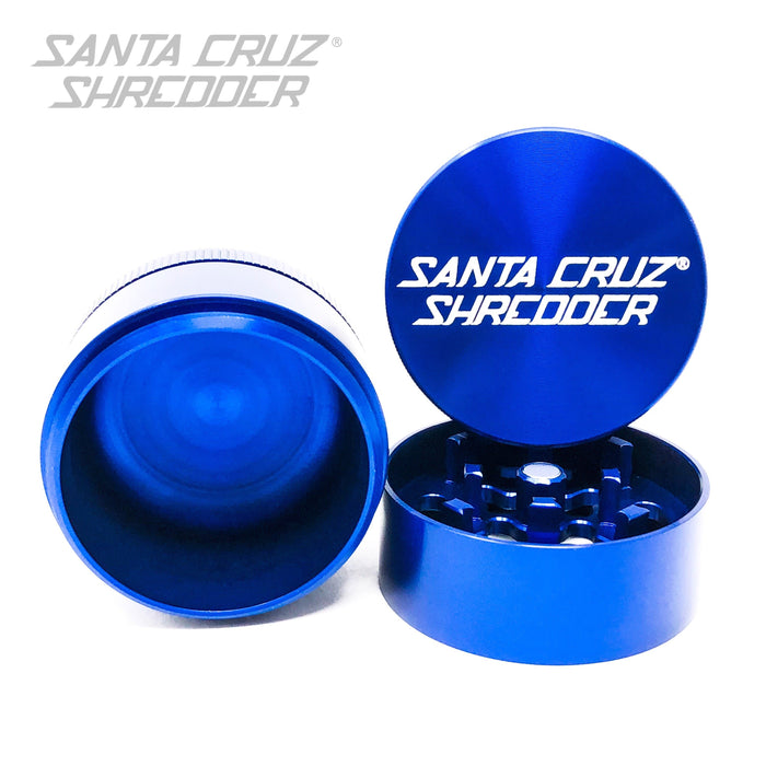 Santa Cruz Shredder Small 3-Piece Metal Grinder - Blue