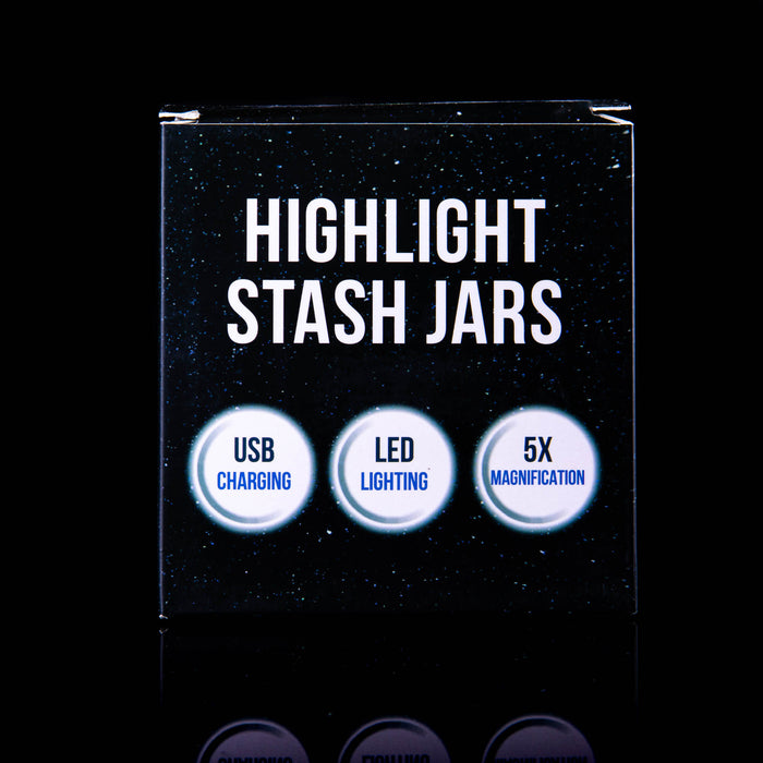 Highlight Stash Jars- Adam iLL edition PURPLE