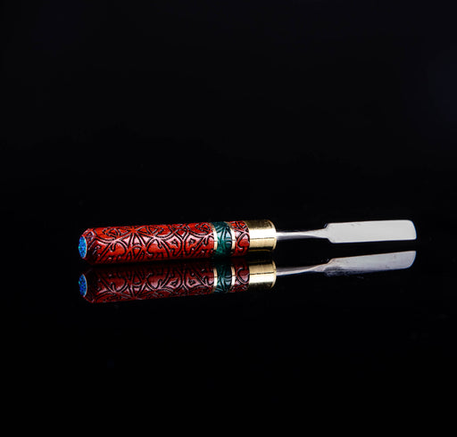 Cellini & Co. Dabbers- Epoxy, Brass, and Opal - Etched