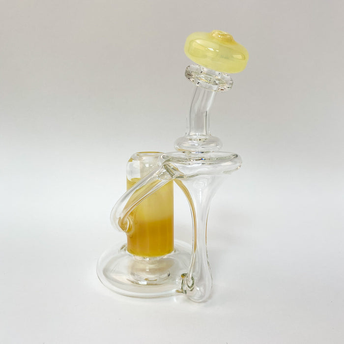 710 Sci Glass RBR Recycler Rigs - 14mm, 90°