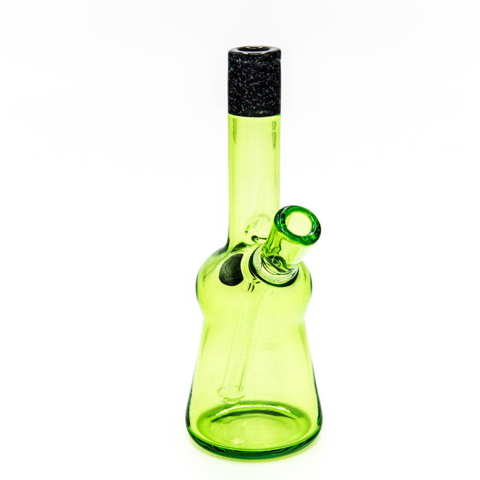 AJ Glassmouth Single Color Dab Rigs with Crushed Opal Mouthpieces