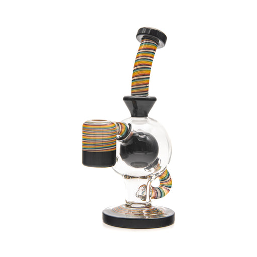 Augy Glass Ball Worked Dab Rig - Line Worked - 14mm, 90°