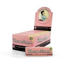 "Blazy Susan Pink Rolling Papers - 1 ¼"" Size"