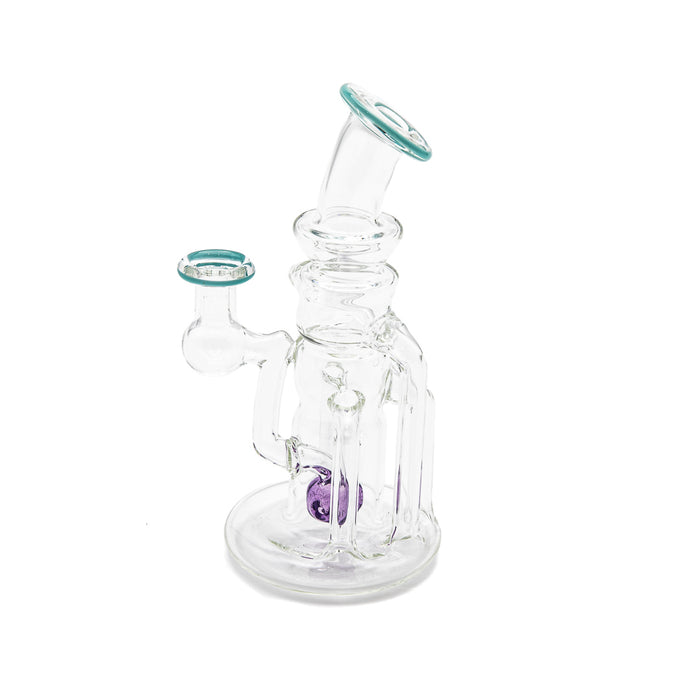 Callaghan Kid Clear Wax Rig w/Color Perc