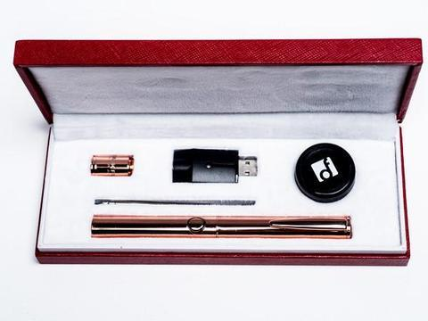 Dank Fung Executive Vaporizer Rose Gold Kit