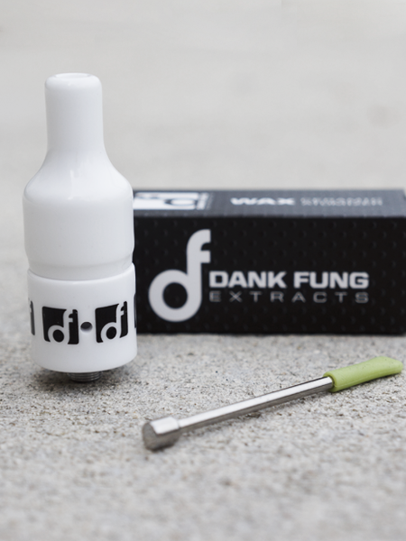 Dank Fung DELUXE Ceramic Atomizer | White, Dank Fung Extracts by Dank Fung Extracts available on Dab Nation