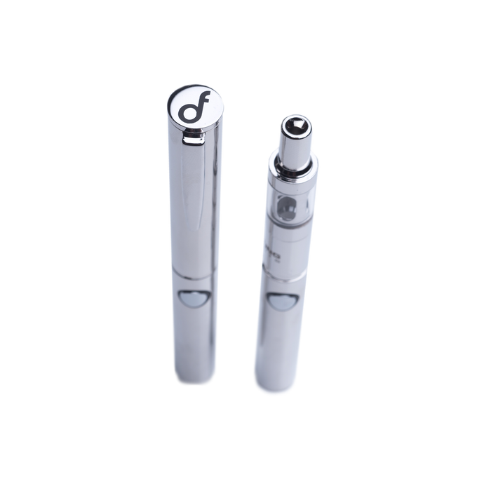 Dank Fung Executive Vaporizer White Gold