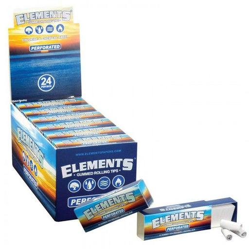 Elements® Perforated Gummed 33 Tips, Rolling Paper by Elements available on Dab Nation