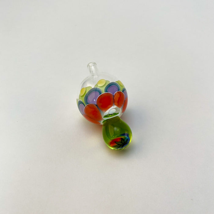 FireFox Dot Stacked Bubble Cap - Weed Leaf Millie