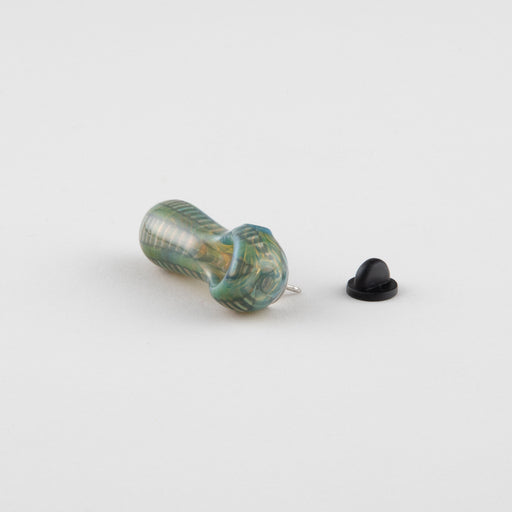 Glass Mouth Pipe Pin