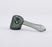 Smoke Grey Glass Hammer Pipe by Grav