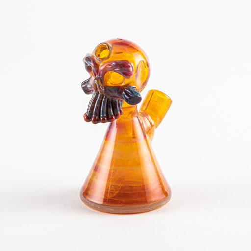 Greg Wilson Skull Heady Glass Dab Rig