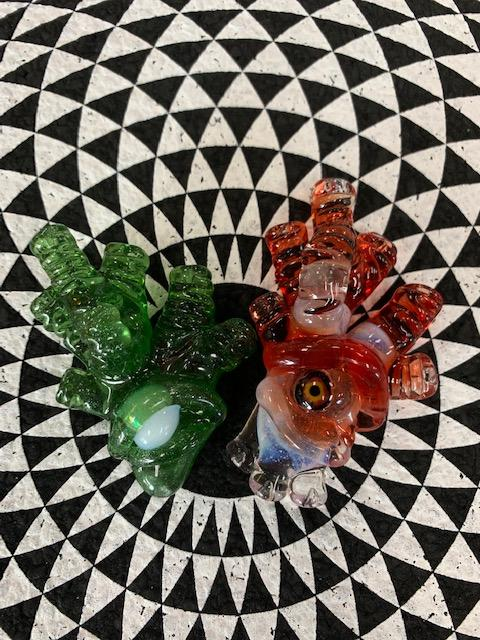 Sette Glass Pendants, Pins, Wax Rigs and More