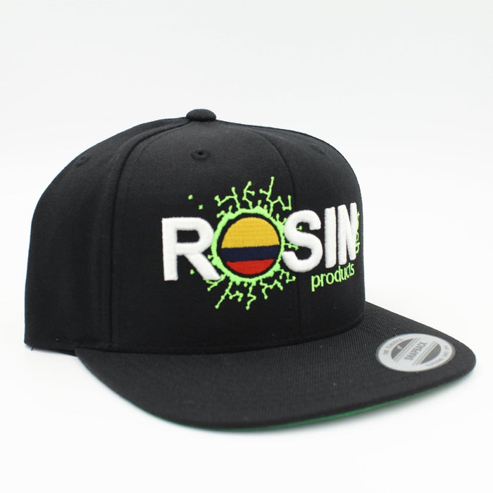 Rosin Tech Products Snapback Colombia Edition, Hats by Rosin Tech Products available on Dab Nation