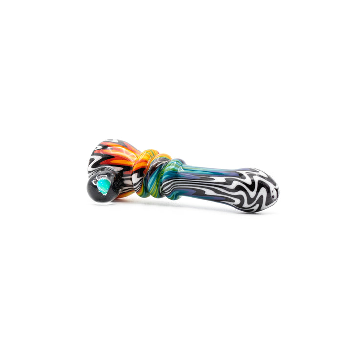 Nitro Glass Chillum Pipes w/Opal and/or Millie