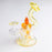 Northern Waters Glass Oil Rig - Orange 10mm with Dab Tool