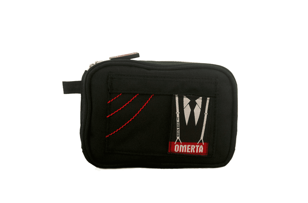 "Dime Bags: 7"" Omerta ""Boss With A Lock"" Smell Proof Pouch"