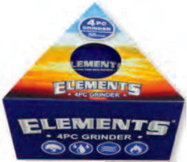 Elements® 4pc Grinder, Grinders by Elements available on Dab Nation