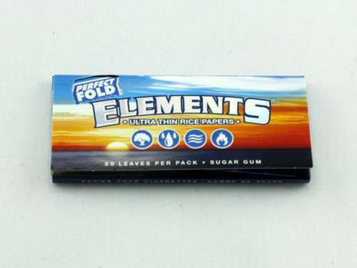 Elements 1 1/4 Inch Rolling Papers, Rolling Paper by Elements available on Dab Nation
