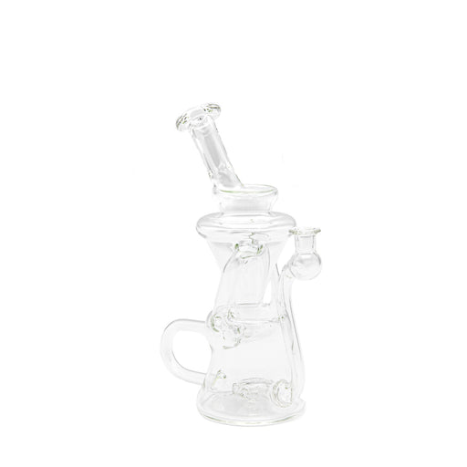 Walmot Glass Clear Recycler Rig