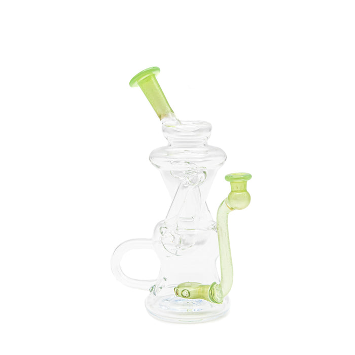 Walmot Glass Clear w/ Color Recycler Rig