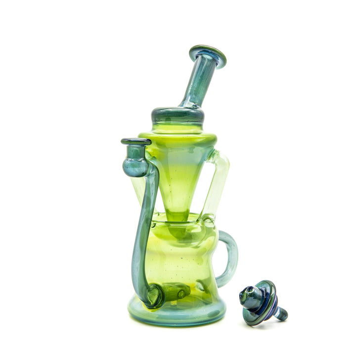 Walmot Glass Fully Worked Recycler Rig