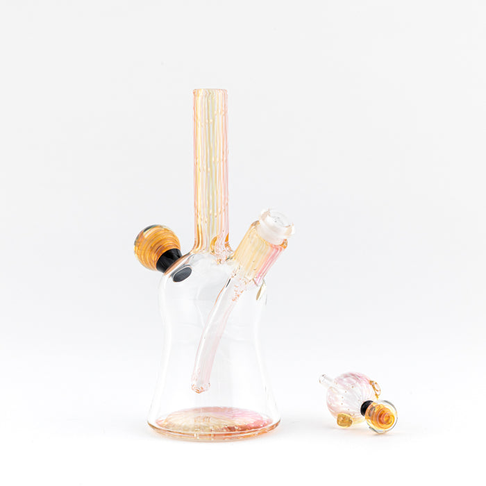 Waugh St. Fumed Mini Tube Sets - Dab Rig and Carb Cap