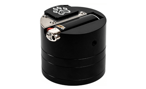 Combo Crusher 6-in-1 Herb Grinder Hand Pipe from Wolf GrindersBlack