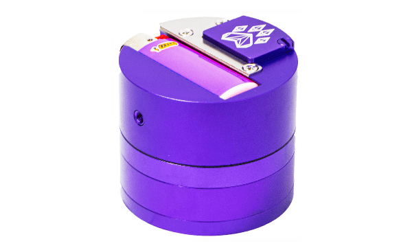 Combo Crusher 6-in-1 Herb Grinder Hand Pipe - Purple