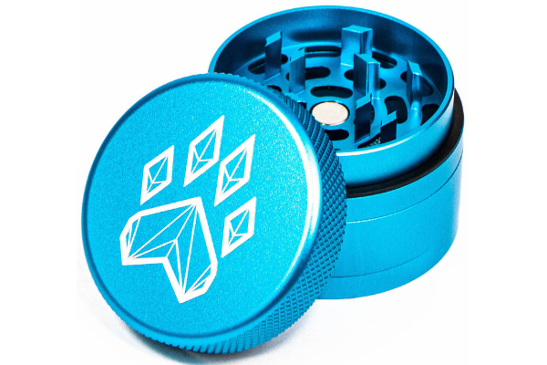 Wolf Traditional 4-Piece Herb Grinder - Teal
