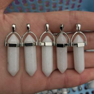 Be Lit Brand - Crystal and Stone PendantsWhite Jasper