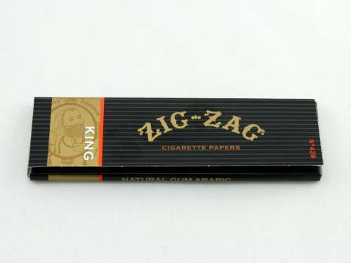 Zig Zag King Size Rolling Papers, Rolling Paper by Zig Zag available on Dab Nation